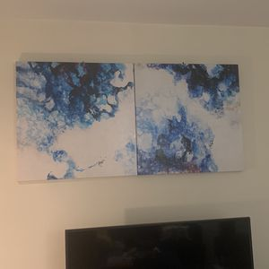 Blue Abstract Canvases for Sale in Silver Spring, MD