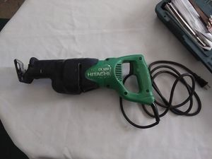 Hitachi saw saw 120V . for Sale in Greenville, NC