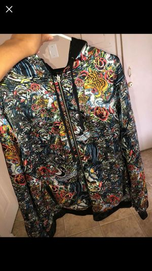 Ed Hardy Hoody Reversible jacket for Sale in Gaithersburg, MD