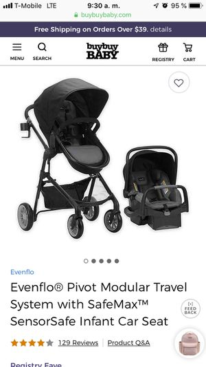 Evenflo stroller just stroller no car seat for Sale in Tulsa, OK