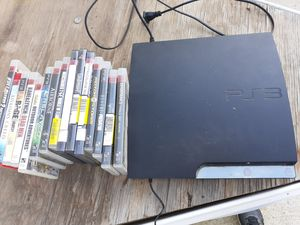 Ps3 with games for Sale in Perris, CA
