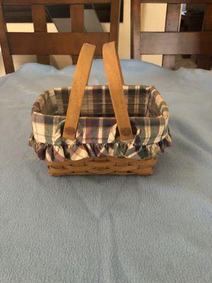 Longaberger small gathering basket for Sale in Mesa, AZ