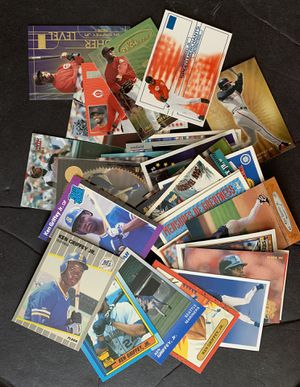 35 Different Ken Griffey Jr Baseball Cards includes Rookie Cards for Sale in Fullerton, CA