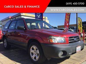 2004 Subaru Forester for Sale in Chula Vista, CA