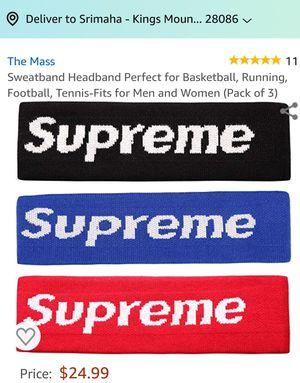 Sportula supreme headband for Sale in Kings Mountain, NC