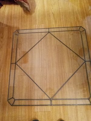 Square leaded It Glass for coffee table or interior windows for Sale in NEW PRT RCHY, FL