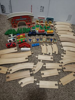 Play Train Wood Set for Sale in Bend, OR