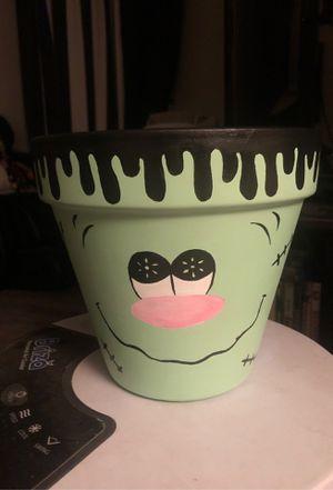 Halloween Frankenstein pot for Sale in Rancho Dominguez, CA