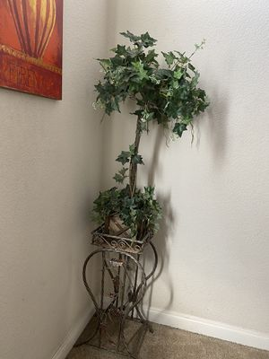 Potted plant (fake tree with stand) for Sale in Castro Valley, CA