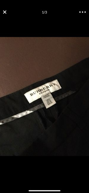 NEW Black Burberry Women's Pants Size 6 US for Sale in Everett, WA