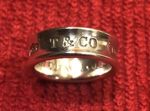 .925 Silver Tiffany & Co 1837 Ring, size 7 for Sale in Long Beach, CA