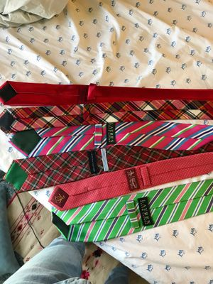 Neck Ties Mix Bag 6 of them Ralph Lauren for Sale in North Bethesda, MD
