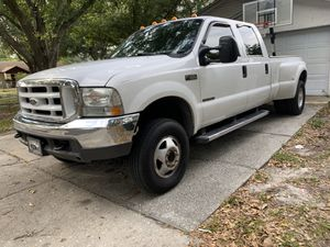 "2000 Ford F-350 7.3 Powerstroke!! 245000 miles!! BRAND NEW MBRP 5"" Straight pipe With 8"" MBRP TIP. Brand new Power hungry performance Hydra 17 poison for Sale in Lakeland, FL"