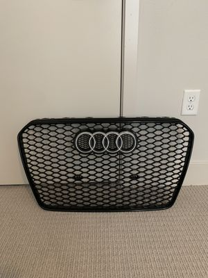 OEM Audi RS5 gloss black Front Grille for Sale in Orange, CA