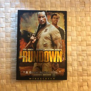 Rundown Movie With Dwayne the rock Johnson for Sale in Long Beach, CA