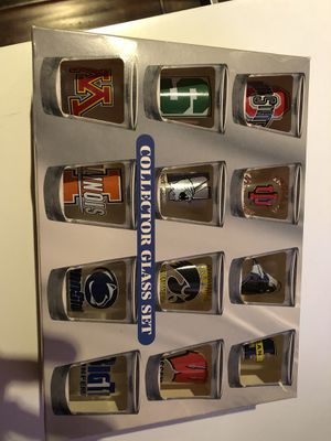Big 10 Shot Glass Collection for Sale in Los Angeles, CA