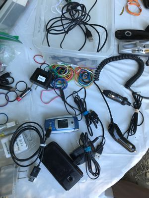 Chargers and cables for Bluetooth, cell phones, etc for Sale in Oakland, CA