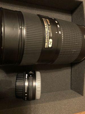 Nikon lenses for Sale in Washington, DC