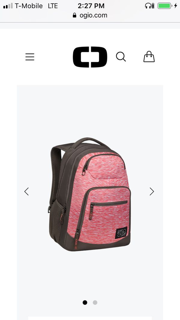 Needs to go ASAP!! Pink OGIO 15.6' Laptop Backpack 5 ZIPPER POCKETS & BACK STRAP BUCKLE!!