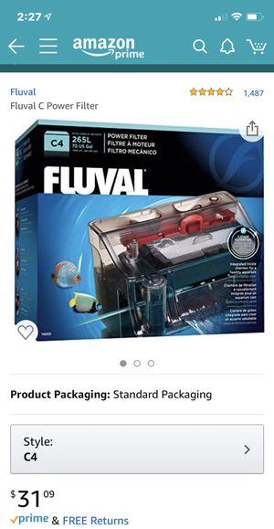 Fluval C4 filter fish tank aquarium for Sale in San Diego, CA