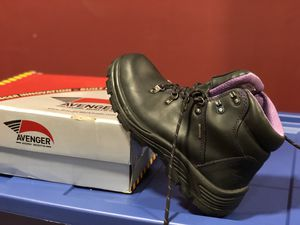 Women working boots (steel toe) for Sale in Bay Shore, NY
