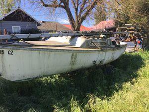 Sailboat. Swing keel on trailer for Sale in Lodi, CA