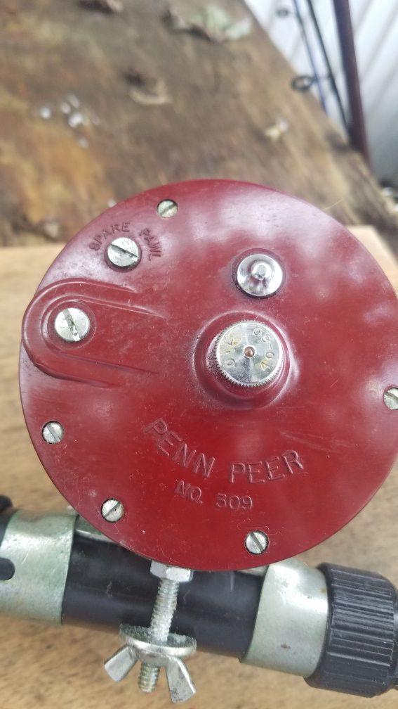 #309 Penn reel with rod