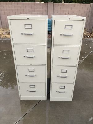 2 METAL FILE CABINETS for Sale in Sun City, AZ