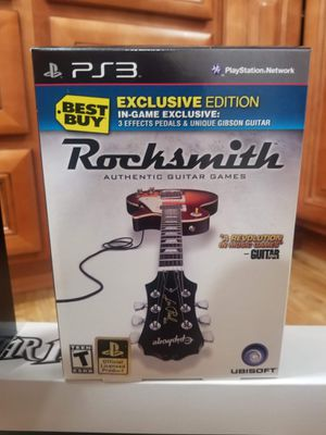 Rocksmith PS3 Brand new sealed! for Sale in Nashville, TN