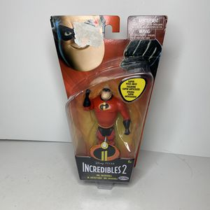 NEW Disney Pixar Incredibles 2 Cartoon Movie Character Mr. Incredible Action Figure Toy for Sale in Trenton, NJ