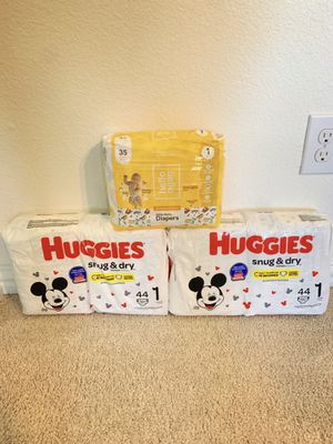Huggies Snug & Dry Size 1 (Hello Bello Size 1) for Sale in Red Oak, TX