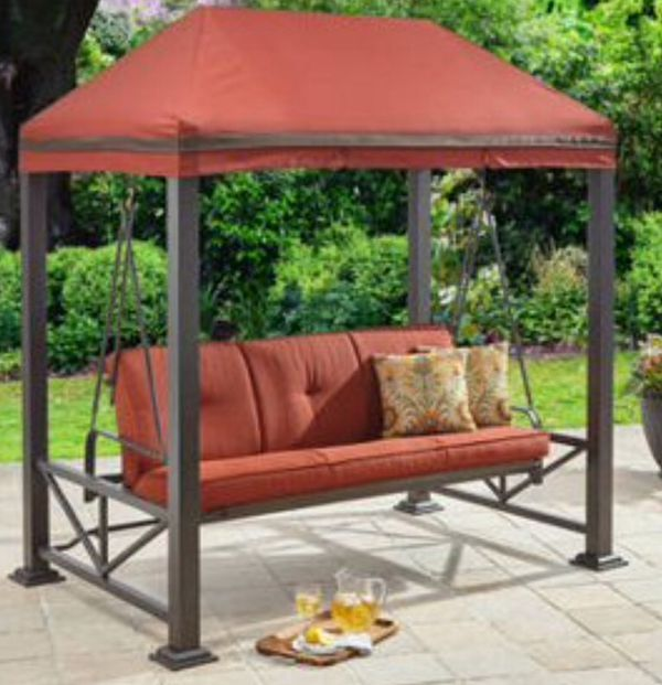 New!! Gazebo,Swing Bed,Outdoor Furniture,Porch Swing,Swing W/Gazebo,Swing Chair,