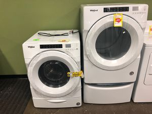 Whirlpool Front Load Washer & Dryer for Sale in Addison, TX