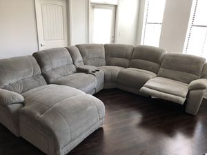 7 Piece Sectional Reclining Sofa for Sale in Atlanta, GA