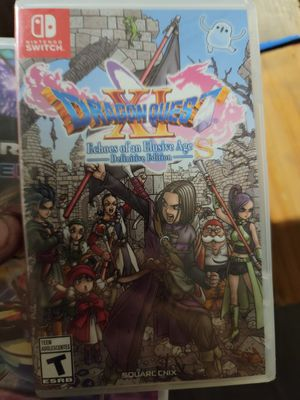 Dragonquest xi for switch for Sale in San Bernardino, CA