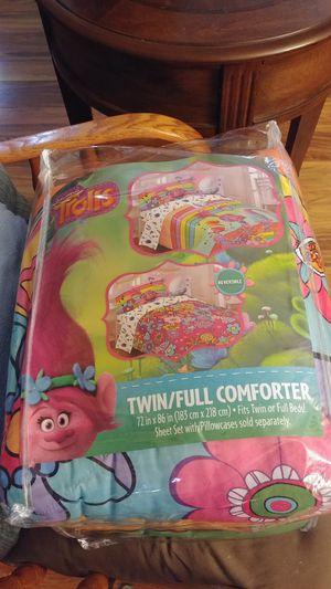 Trolls twin/full comforter for Sale in Fountain, CO