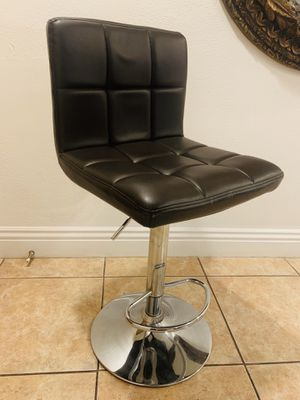 Dark brown stainless steel stool with lever for Sale in Santa Ana, CA
