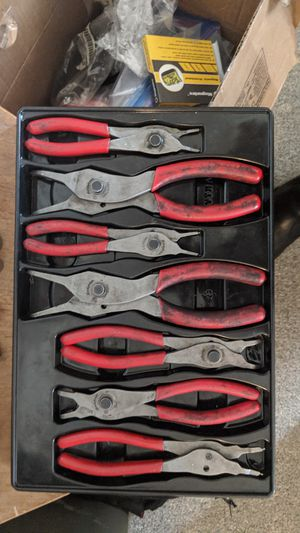 Snap-on Tools 7-piece Convertible Snap-ring Pliers Set for Sale in Portland, OR