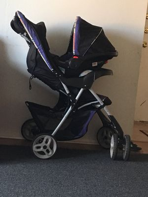 Baby cart with car seat for Sale in College Station, TX