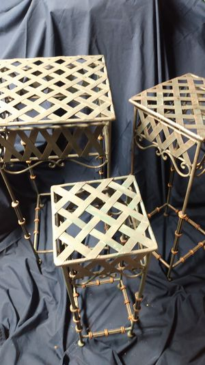 Wrought iron plant stands for Sale in Salt Lake City, UT