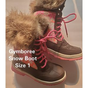Gymboree Girls Sweater + Faux Fur Snow Boot ***Super Cute*** for Sale in Hayward, CA