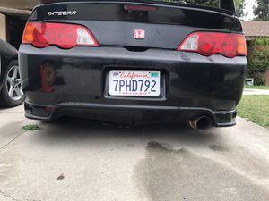 2002 2003 2004 2005 2006 Acura RSX Rear Bumper INGS N-aspec for Sale in Ontario, CA