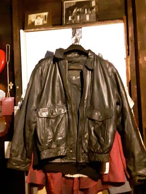 Black leather jacket for Sale in St. Louis, MO
