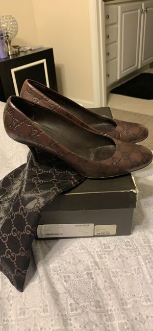 Brown Gucci pumps Size 7.5 for Sale in Raleigh, NC