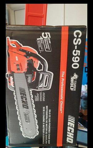 "ECHO CS-590 20""IN CHAINSAW BRAND NEW for Sale in San Bernardino, CA"