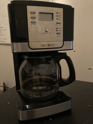 Mr.Coffee 12 Cup Programmable Coffee Maker for Sale in Fort Worth, TX