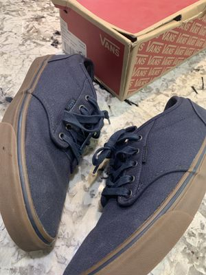 Vans Men's Atwood Canvas, Navy/Gum US Size 10.5 for Sale in Washington, DC