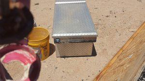 Diamond plate truck tool box for Sale in Eagar, AZ