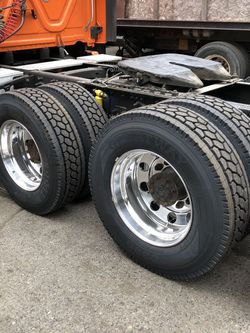 295/75 22.5 & 255/70 22.5 semi truck tires. NEW Virgin Tires for Sale in Gresham,  OR