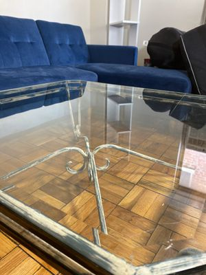 Antique glass table for Sale in Rockville, MD
